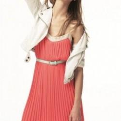 Yazlık Pileli Elbise Modelleri 2014