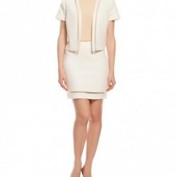 Beyaz Yeni Koton Ceket Modelleri