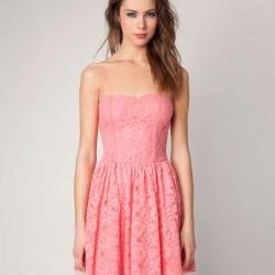 Dantelli Bershka Elbise Modelleri