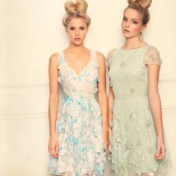 Güpürlü Yeni Mevsimlik Elbise Modelleri