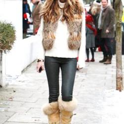 Kürklü 2015 Kış Modası