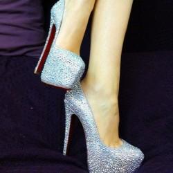 Parlak Topuklu Ayakkabı Modelleri