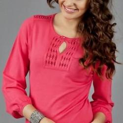 Pembe Renkli Kazak Modelleri