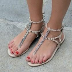 Sandalet Zımbalı Ayakkabı Modelleri 2014