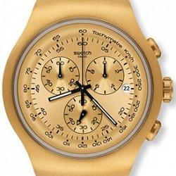 Altın Sarısı Swatch Saat Modelleri