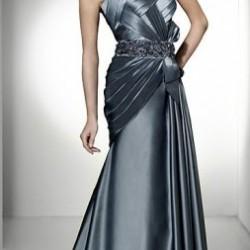 Göğüs Kısmı Drapeli Elbise Modelleri