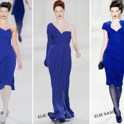 Mavi Elbise Modelleri