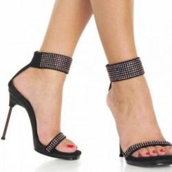 Siyah 2014 Taşlı Ayakkabı Modelleri