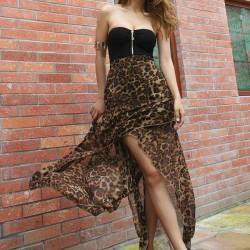 Straplez Yeni Asimetrik Kesim Elbise Modelleri