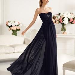 Tül Detaylı Gece Elbisesi Modelleri
