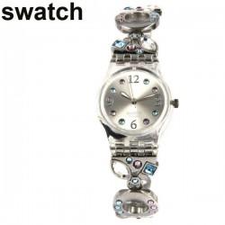 Taş Süslemeli Swatch Saat Modelleri