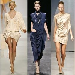 Zarif Drapeli Elbise Modelleri