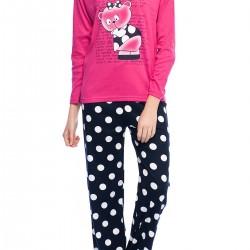 Puantiyeli Yeni Pijama Modelleri