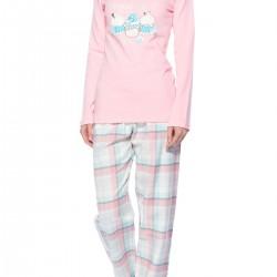 V Yaka Yeni Pijama Modelleri