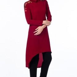 Önü Kısa Arkası Uzun Gönül Kolat Tunik Modelleri