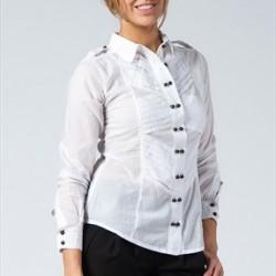 Beyaz Benetton Gömlek Modelleri