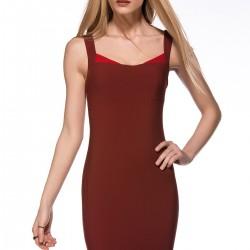 Bordo Yeni Sezon Elbise Modelleri