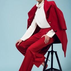 Kırmızı Pantolon Yeni Sezon adL Modelleri