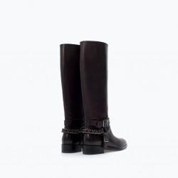 Siyah Çizme 2015 Kışlık Ayakkabı Modelleri