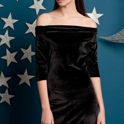 Siyah Elbise Yeni Sezon Kakao Suit Modelleri