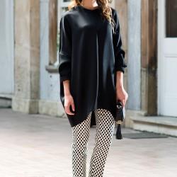 Siyah Tunik Kuaybe Gider Yeni Sezon Modelleri