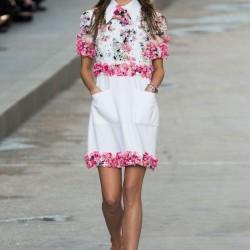 Çiçekli Elbise CHANEL 2015 İlkbahar - Yaz Modelleri