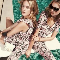 Çiçekli Elbise ve Tulum Juicy Couture 2015 İlkbahar Koleksiyonu
