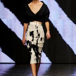 Bluz Kombin Donna Karan 2015 İlkbahar-Yaz