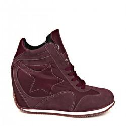 Bordo Yeni Sezon Ziya Ayakkabı Modelleri