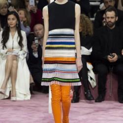 Renkli Elbise Christian Dior 2015 İlkbahar-Yaz Modelleri