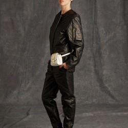 Siyah Ceket Moschino 2015 Modelleri