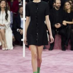Siyah Elbise Christian Dior 2015 İlkbahar-Yaz Modelleri