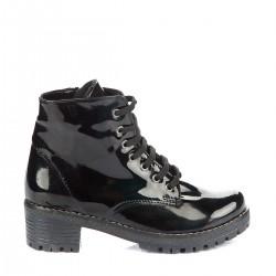 Siyah Rugan Bot Pembe Potin 2015 Ayakkabı Modelleri