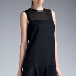 Tül Detaylı Elbise 2015 İpekyol Modelleri