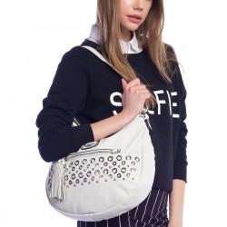 Beyaz Guess 2015 Çanta Modellerii