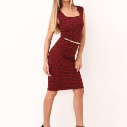 Bordo Sense Elbise Modelleri