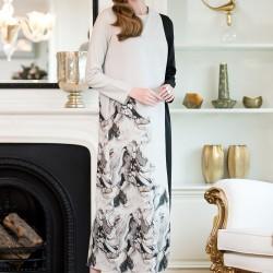 Desenli Elbise Vavist 2015 Modelleri