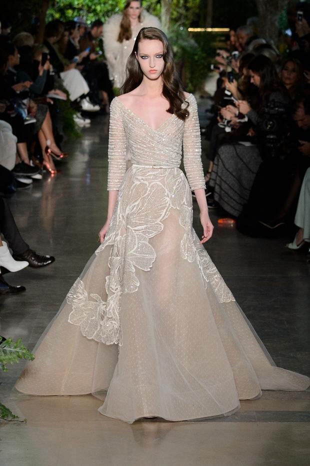 Elie Saab 2015 İlkbahar - Yaz Haute Couture Modeli