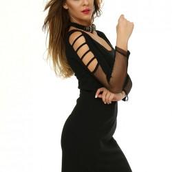 Etkileyici Siyah Sense Elbise Modelleri