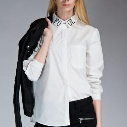 Kırık Beyaz Gömlek Twist Yeni Sezon Modelleri