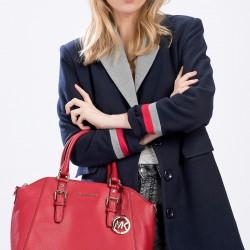 Kırmızı Michael Kors 2015 Çanta Modelleri