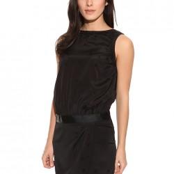 Kemer Detaylı Siyah Armani Jeans Etek ve Elbise Modelleri