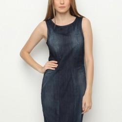 Kot Elbise Armani Jeans Etek ve Elbise Modelleri