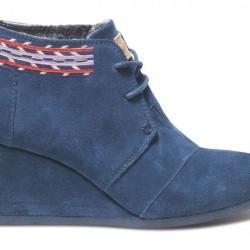 Mavi Dolgu Topuk Toms 2015 Ayakkabı Modelleri