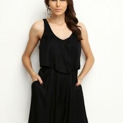 Salaş Siyah Elbise Armani Jeans Etek ve Elbise Modelleri