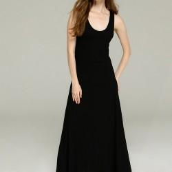 Siyah Uzun Elbise GAP 2015 Modelleri