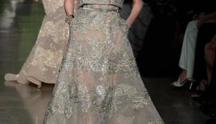 Taş Süslemeli Elbise Elie Saab 2015 İlkbahar - Yaz Haute Couture Koleksiyonu