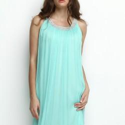Turkuaz Elbise 2015 Silk And Cashmere Modelleri