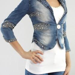 Zarif Kot Yeni Taşlı Ceket Modelleri