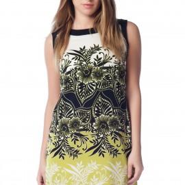 Desenli Kolsuz Elbise Debenhams 2015 Modelleri